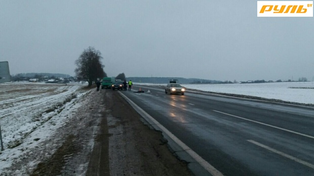 Натрассе Минск-Гродно шофёр умер при столкновении слосем
