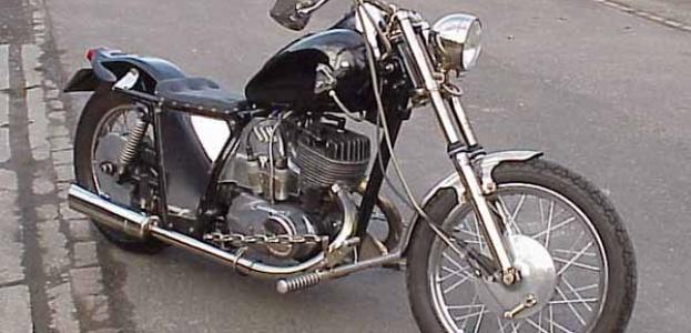 Мотоцикл чоппер своими руками